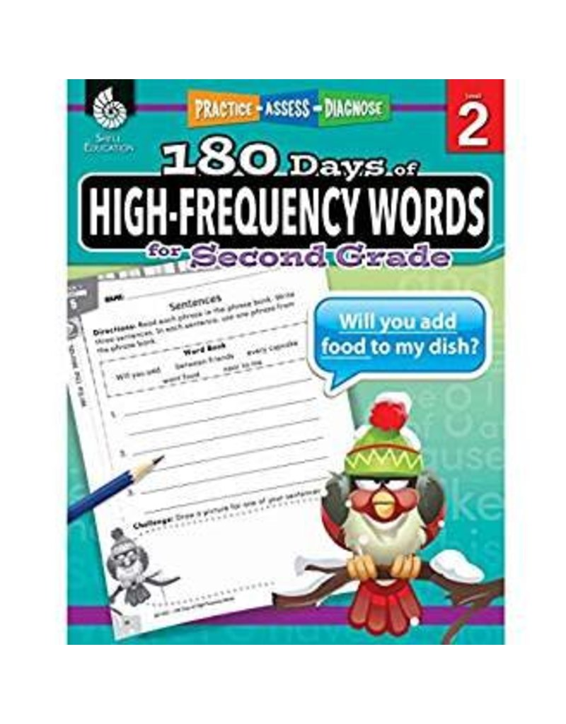 180 Days of High-Frequency Words Gr 2