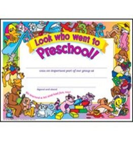 Look who went to Preschool!