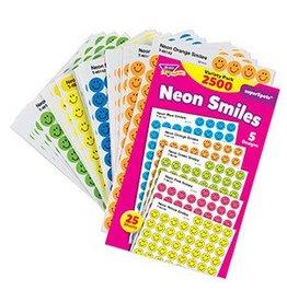 Neon Smiles Stickers