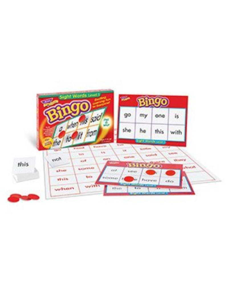 Sight Words Level 1 Bingo