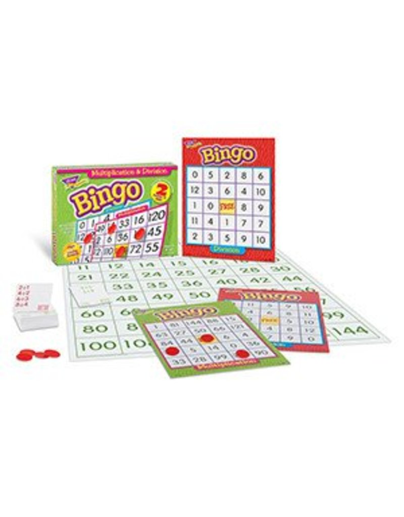 Multiplication & Division (2-sided) Bingo