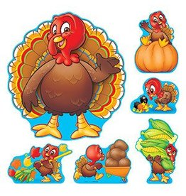 Turkey Time Bulletin Board Set