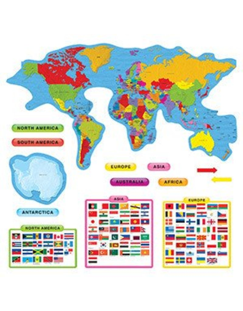 Continents & Countries Bulletin Board