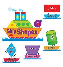 Ship Shapes & Colors Bulletin Board