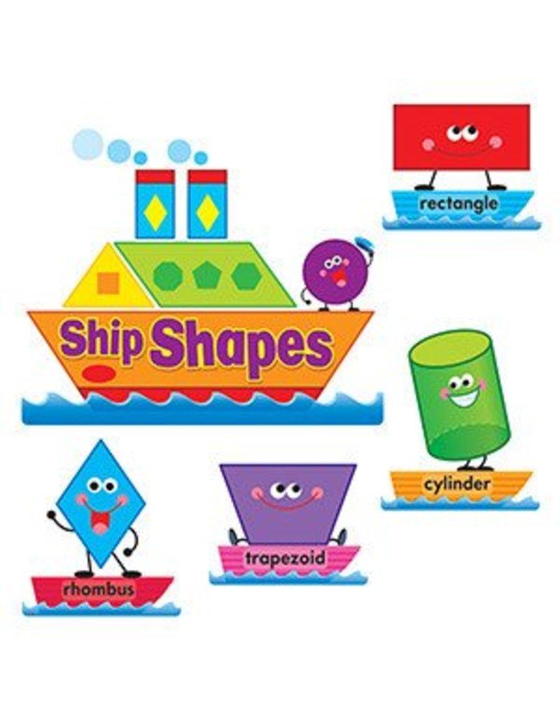 Ship Shapes & Colors Bulletin Board