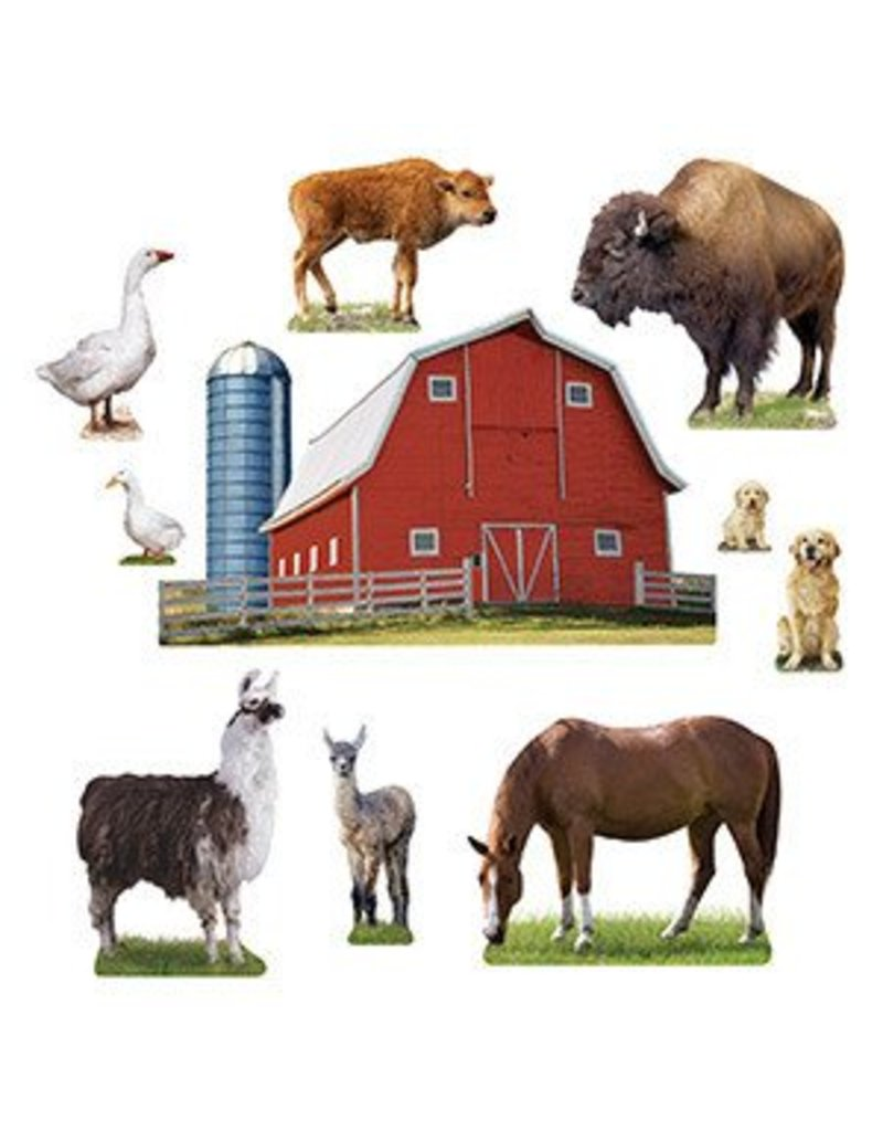 Animals on the Farm Bulletin Board