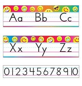 *Emoji Alphabet Line Standard Manuscript