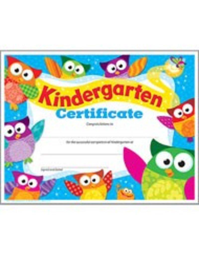 Kindergarten Certificate Owl-Stars!®