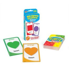 Shapes & Colors Memory Match Cards