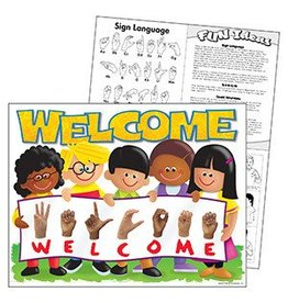 Sign Language Welcome TREND Kids