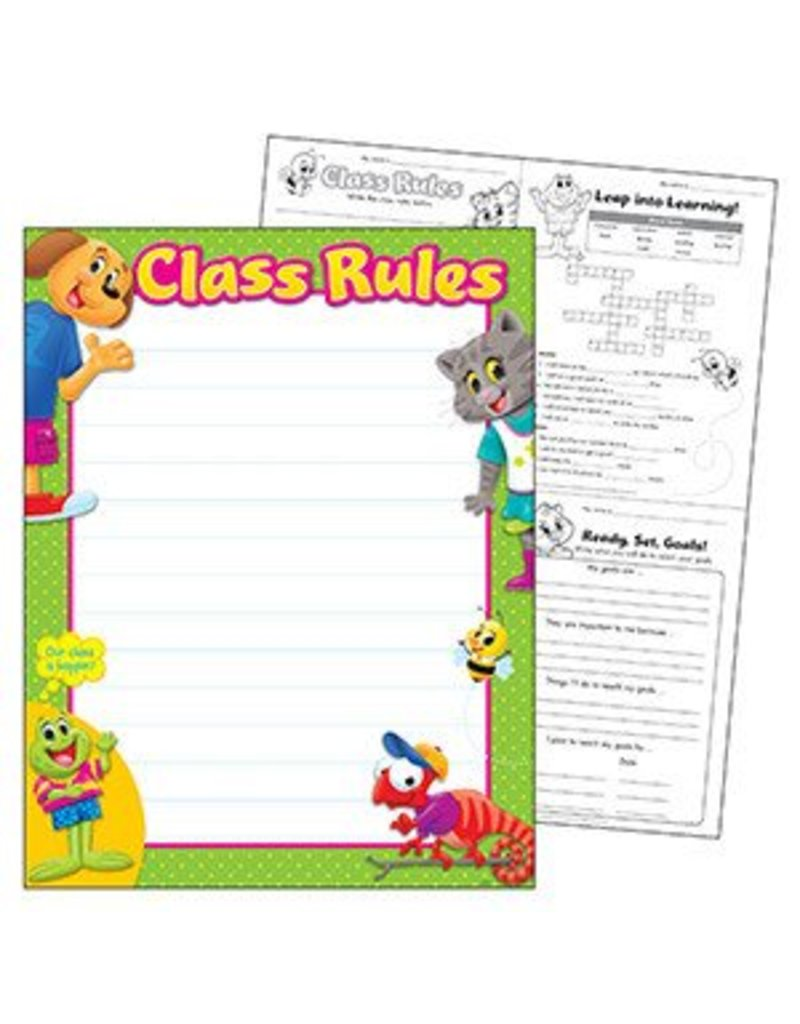 Class Rules Playtime Pals Chart