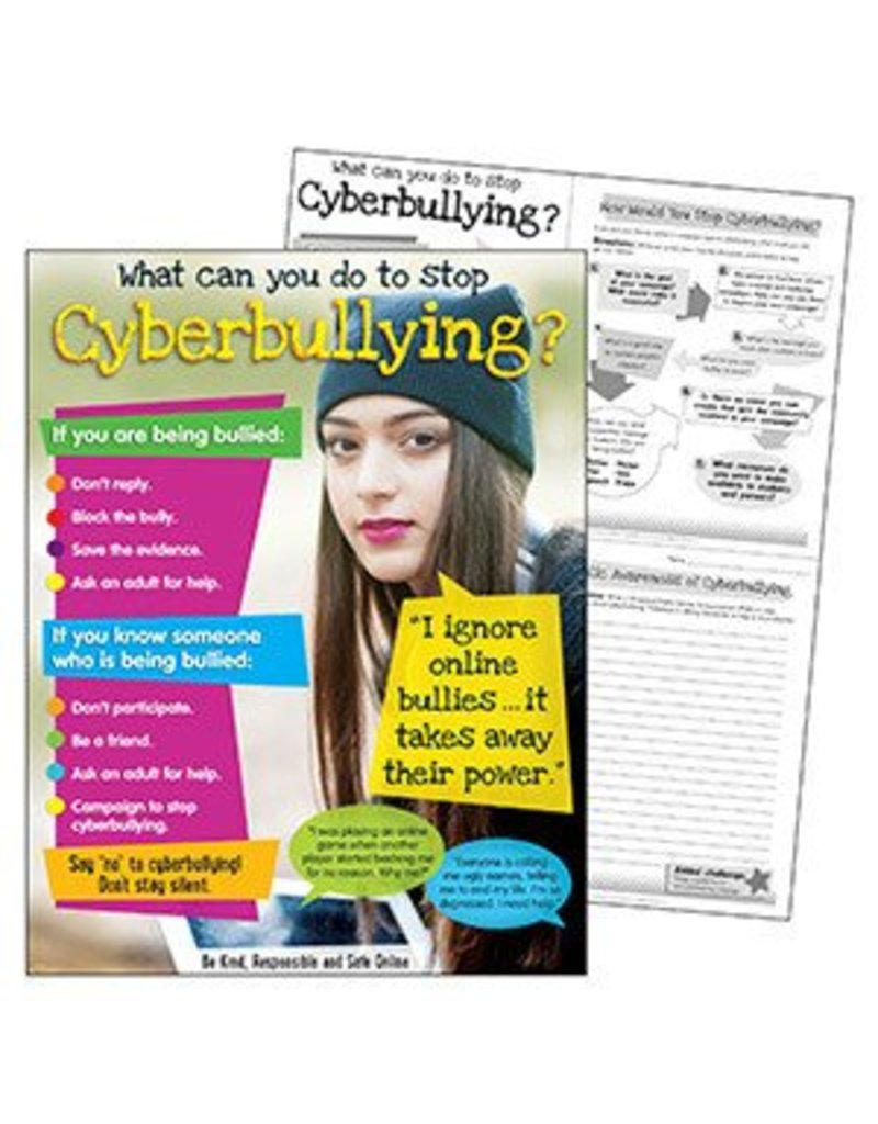 Cyberbullying (Secondary) Learning Chart