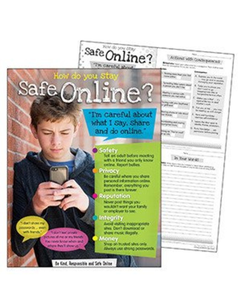 Online Safety (Secondary) Learning Chart