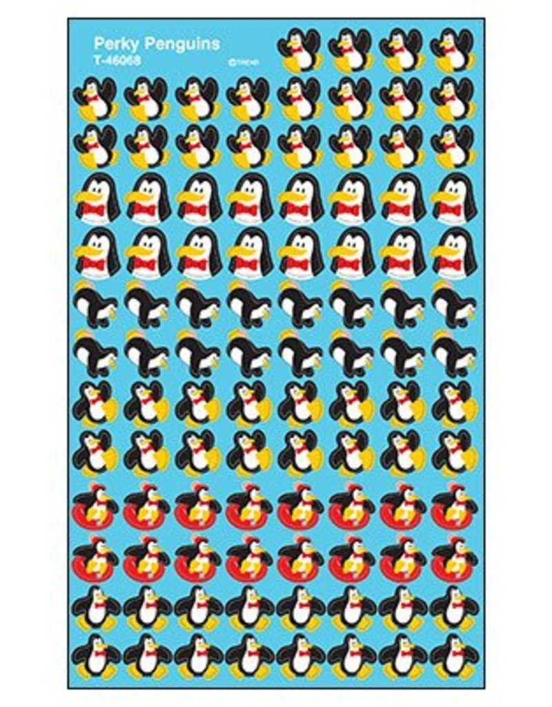 Perky Penguins Stickers