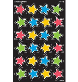 Amazing Stars SuperShapes Stickers