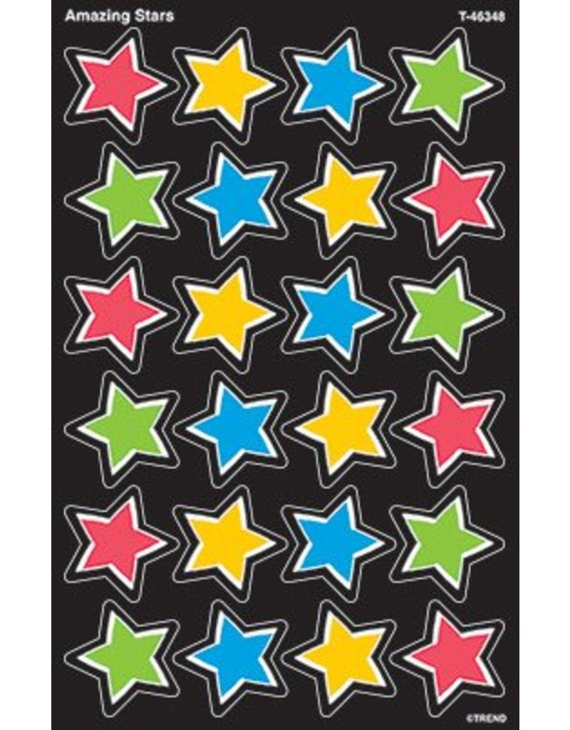 Amazing Stars SuperShapes Stickers