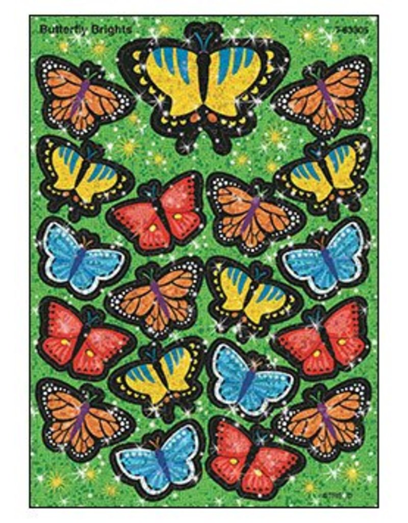 Butterfly Brights Stickers