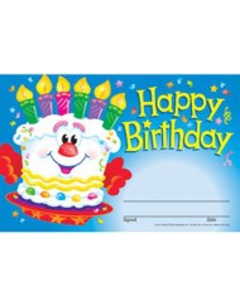 Happy Birthday Cake Award