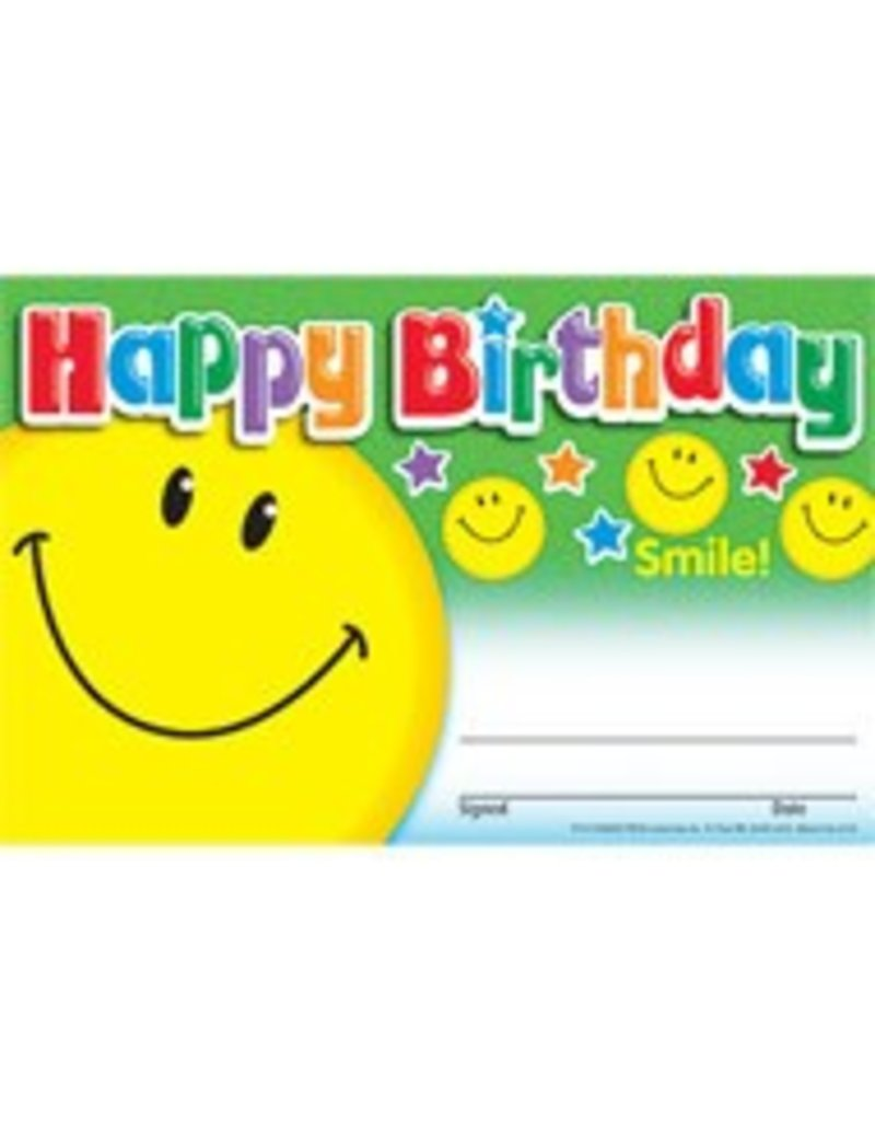 Happy Birthday Smile