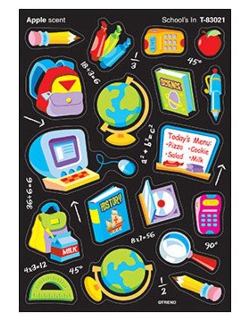 School's In/Apple Stickers