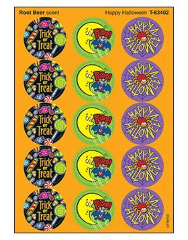 Happy Halloween Root Beer stickers