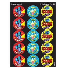 At the Movies/Popcorn stickers