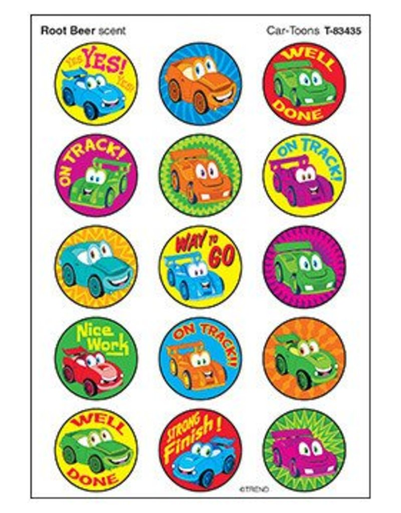 Car Toons Stickers