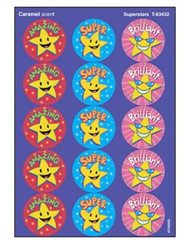 Superstars/Caramel stickers
