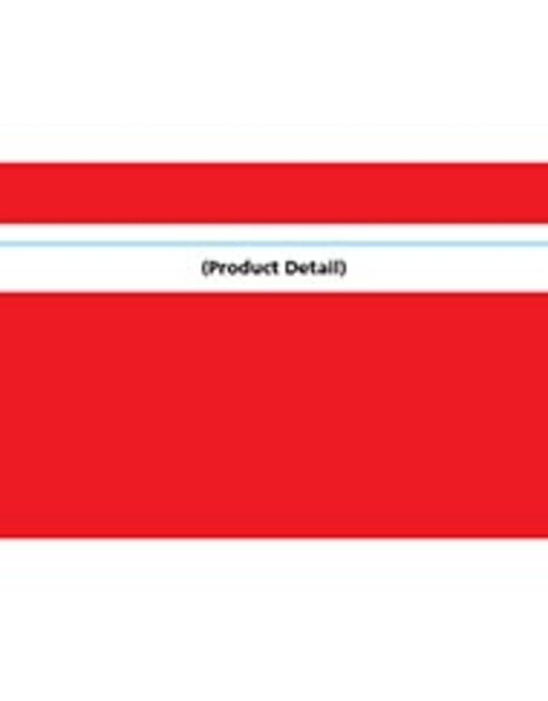 Red Straight Border