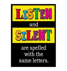 *Listen and silent are…Poster