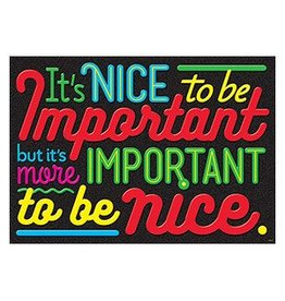IT's Nice to be Important... Poster