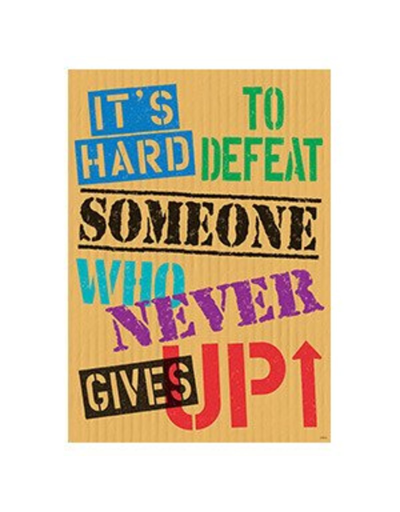 It's Hard to Defeat Someone... Poster