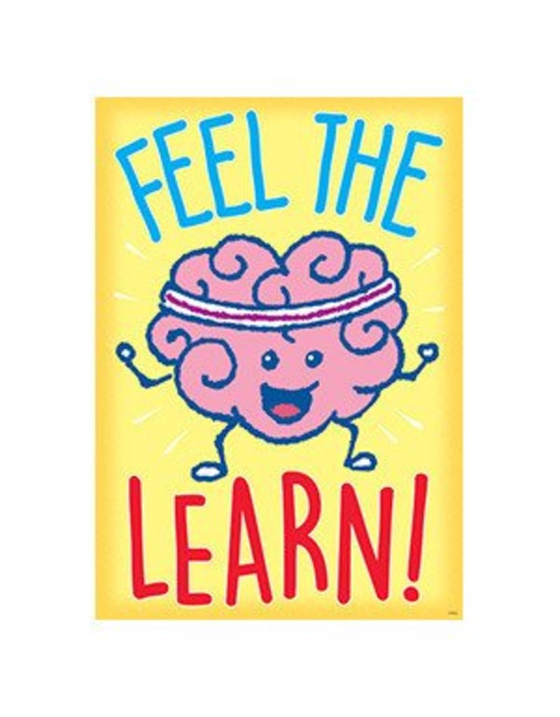 Feel the Learn! Poster