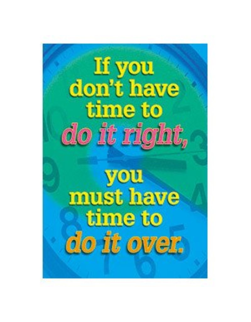 If you don't have time to…