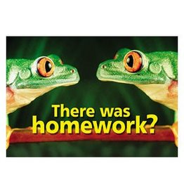 There was homework? Poster