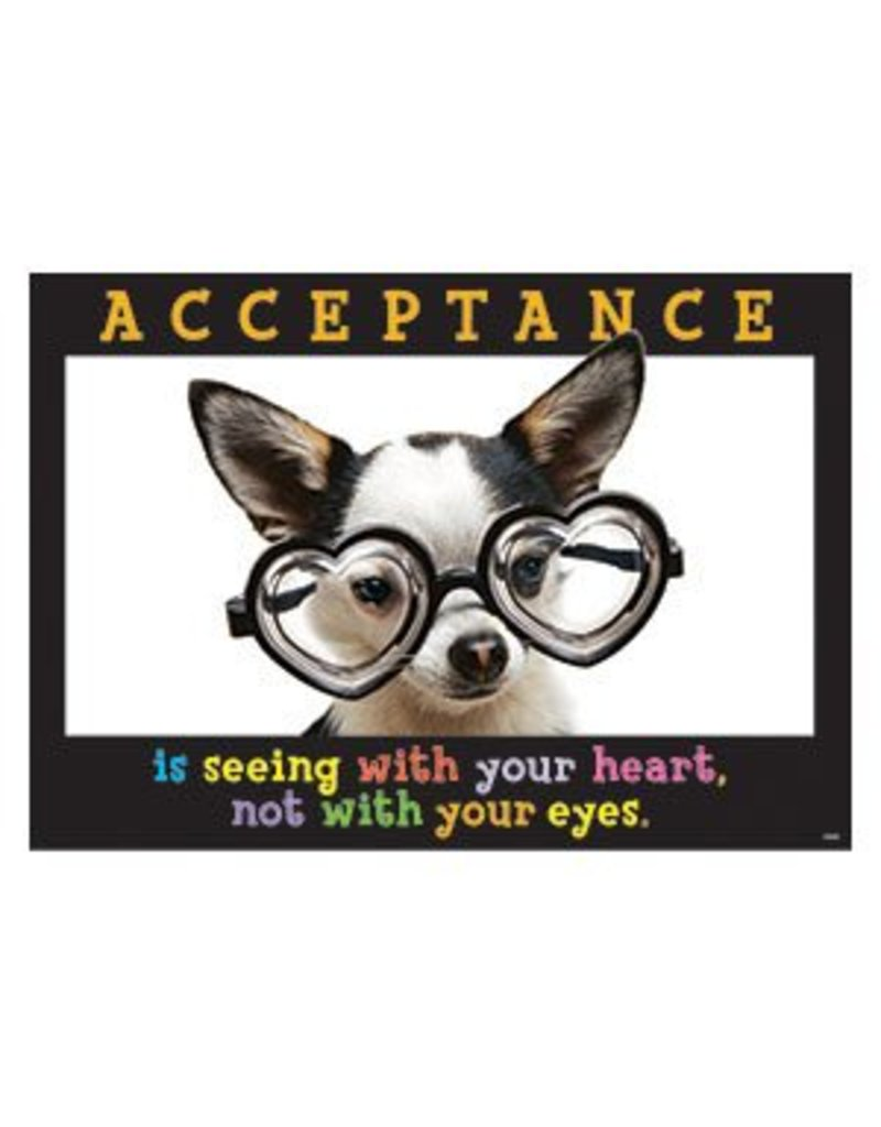 Acceptance is seeing with…