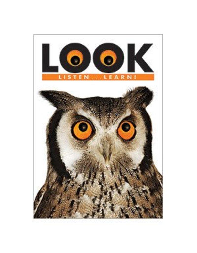 Look Listen...Learn! Poster