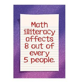 *Math illiteracy affects 8 of 5