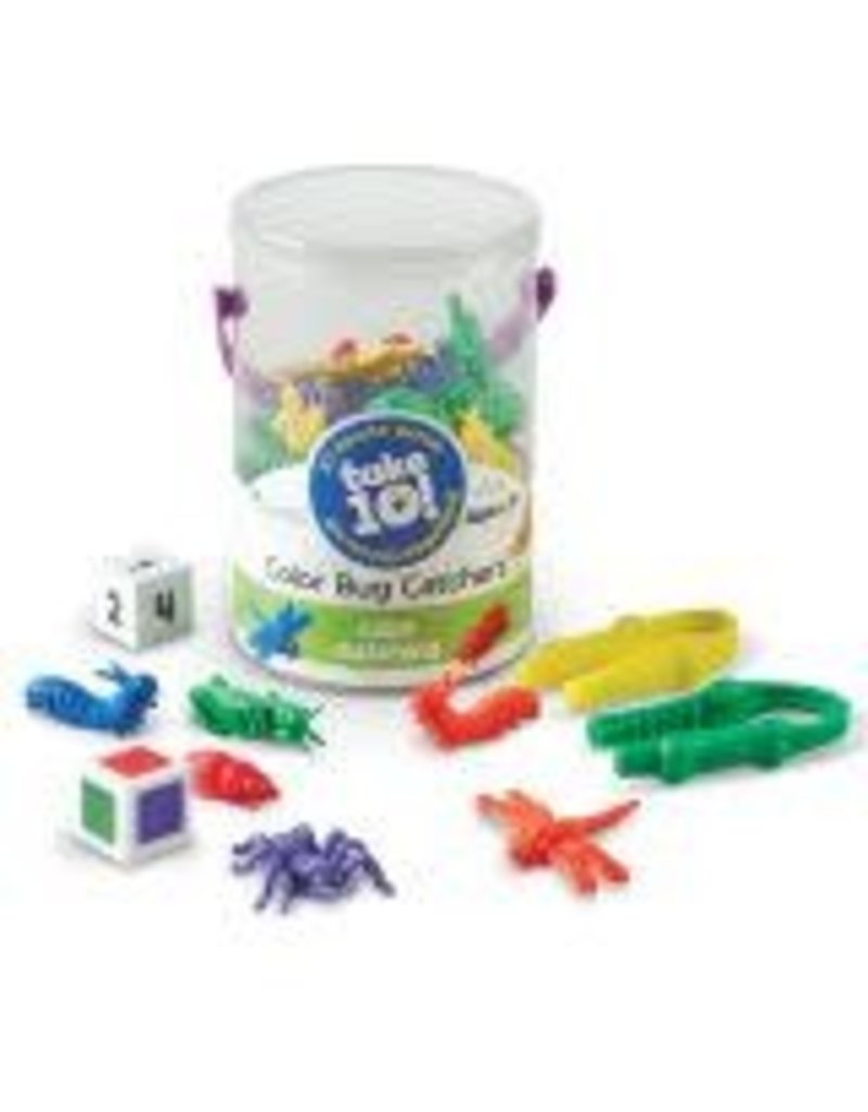 TAKE 10 GAMES COLOR BUG CATCHERS