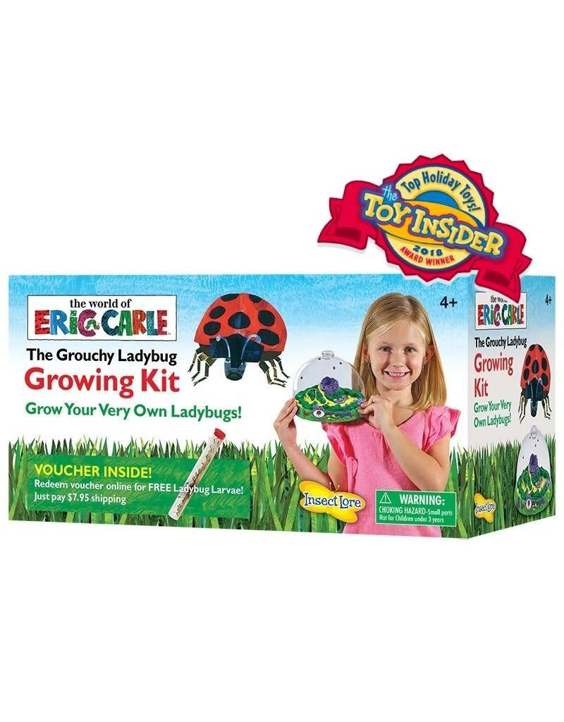 Grouchy Ladybug Growing Kit with Voucher