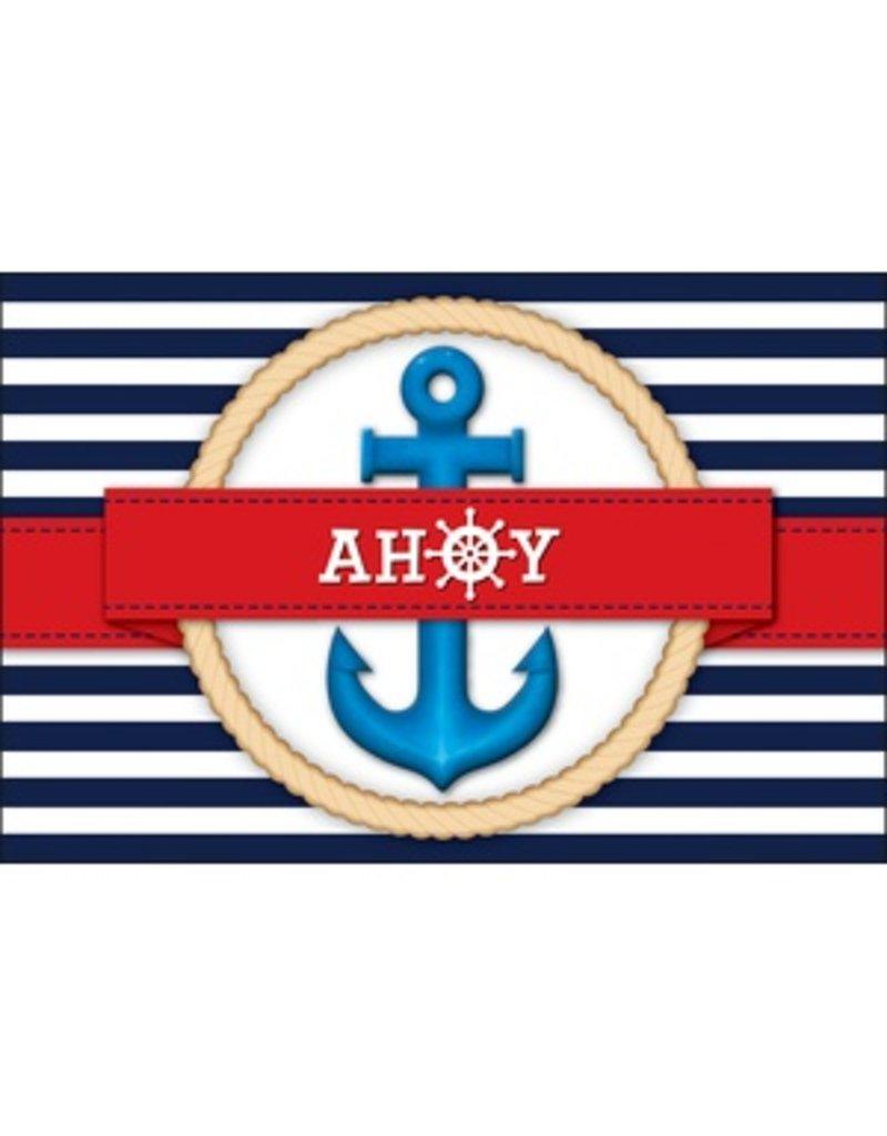 Nautical Ahoy Postcards