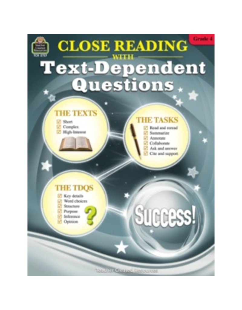 Close Reading with Text-Dependent Questions (Gr. 4)