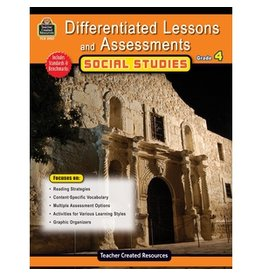 Differentiated Lessons and Assessments: Social Studies Grade 4