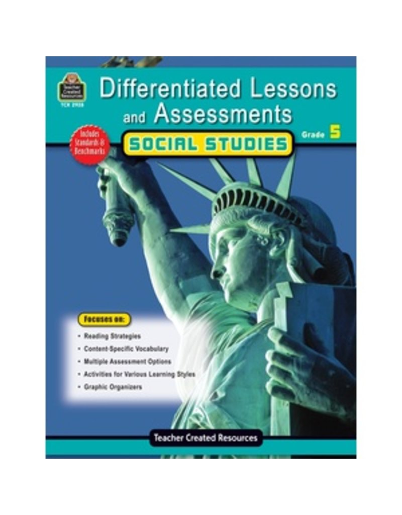 Differentiated Lessons and Assessments: Social Studies Grade 5