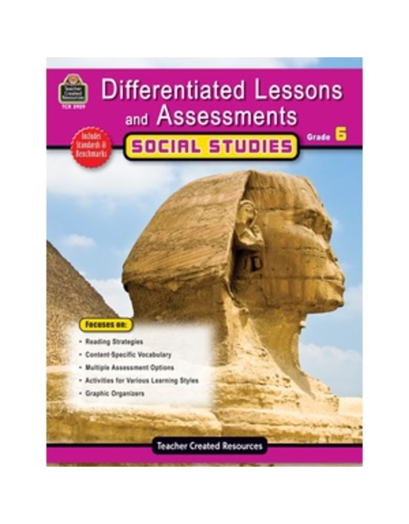 Differentiated Lessons and Assessments: Social Studies Grade 6
