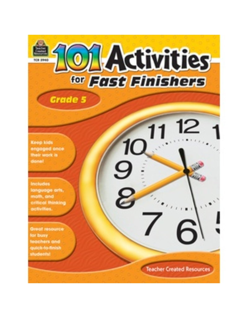 101 Activities for Fast Finishers (Gr. 5)