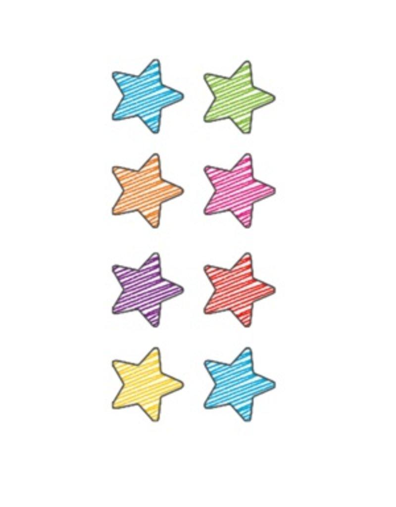 Scribble Stars Mini Stickers