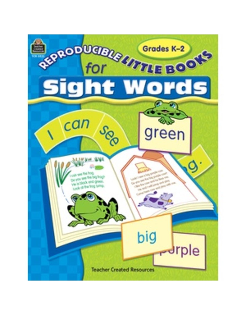 Reproducible Little Books for Sight Words