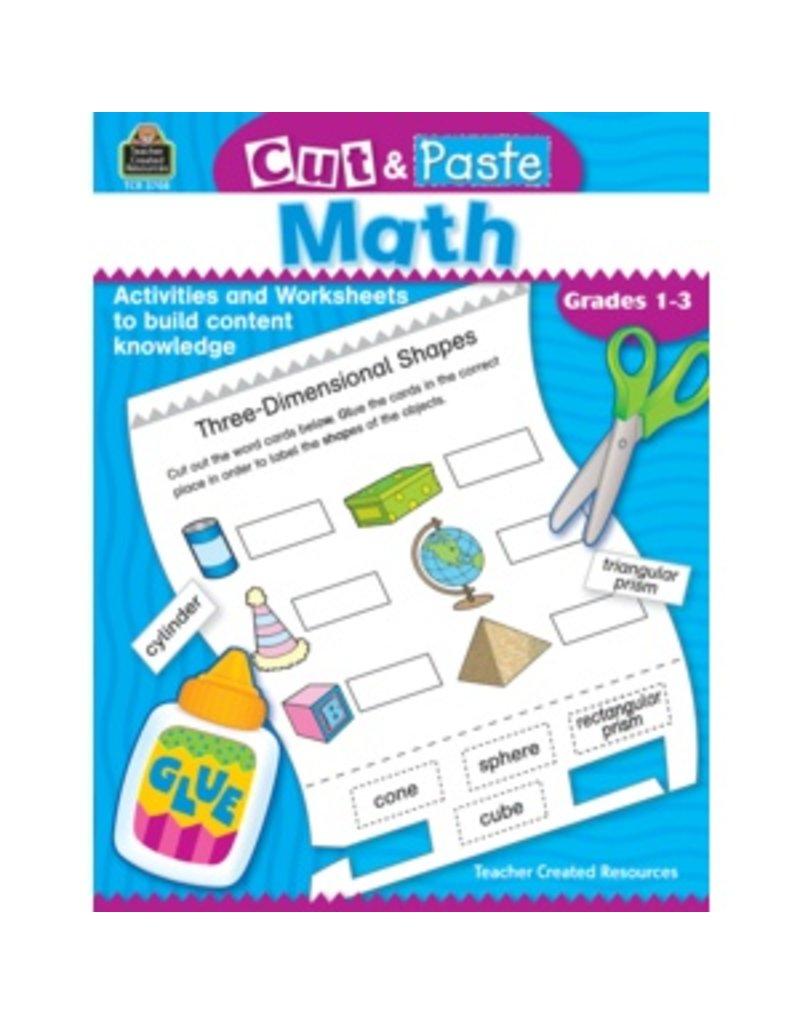 Cut & Paste: Math