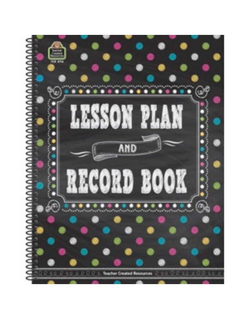 Chalkboard Brights Lesson Plan & Record Book